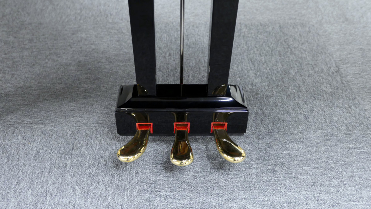 piano de cola Yamaha G2 #5220385 pedales pedal