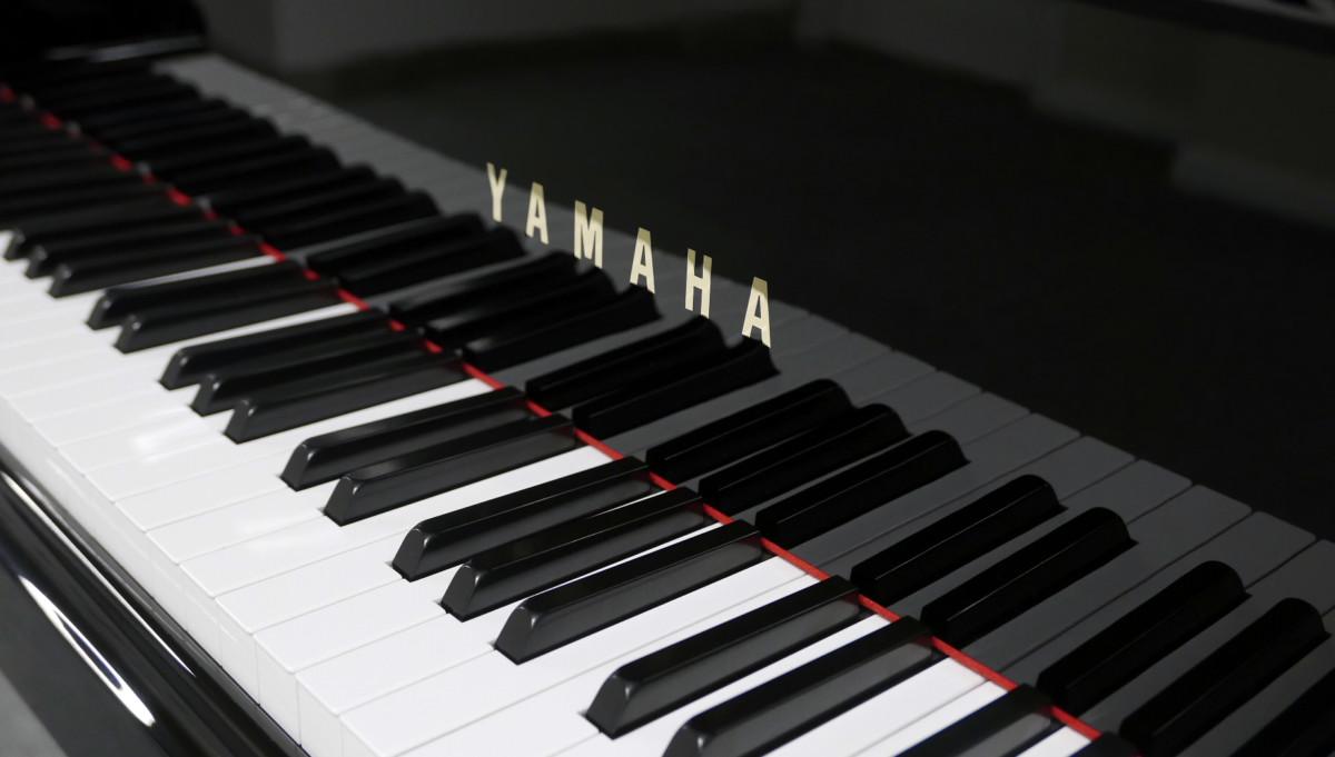 piano de cola Yamaha G2 #5220385 teclado teclas