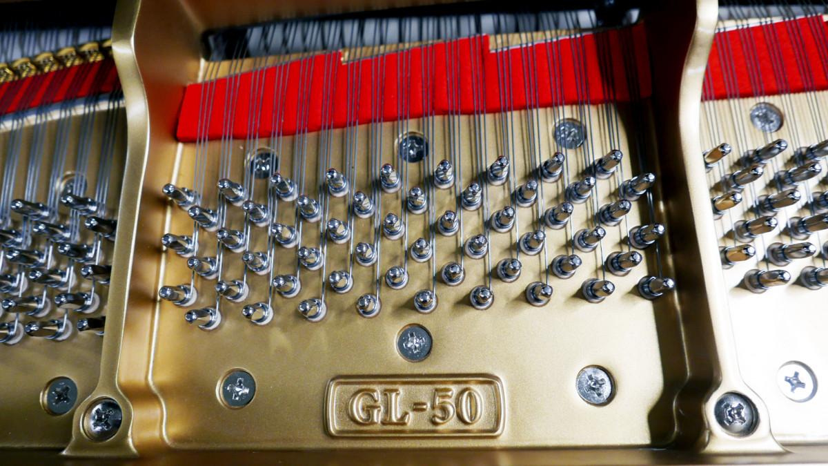 piano de cola Kawai GL50 #2735077 modelo marca clavijero clavijas fieltros