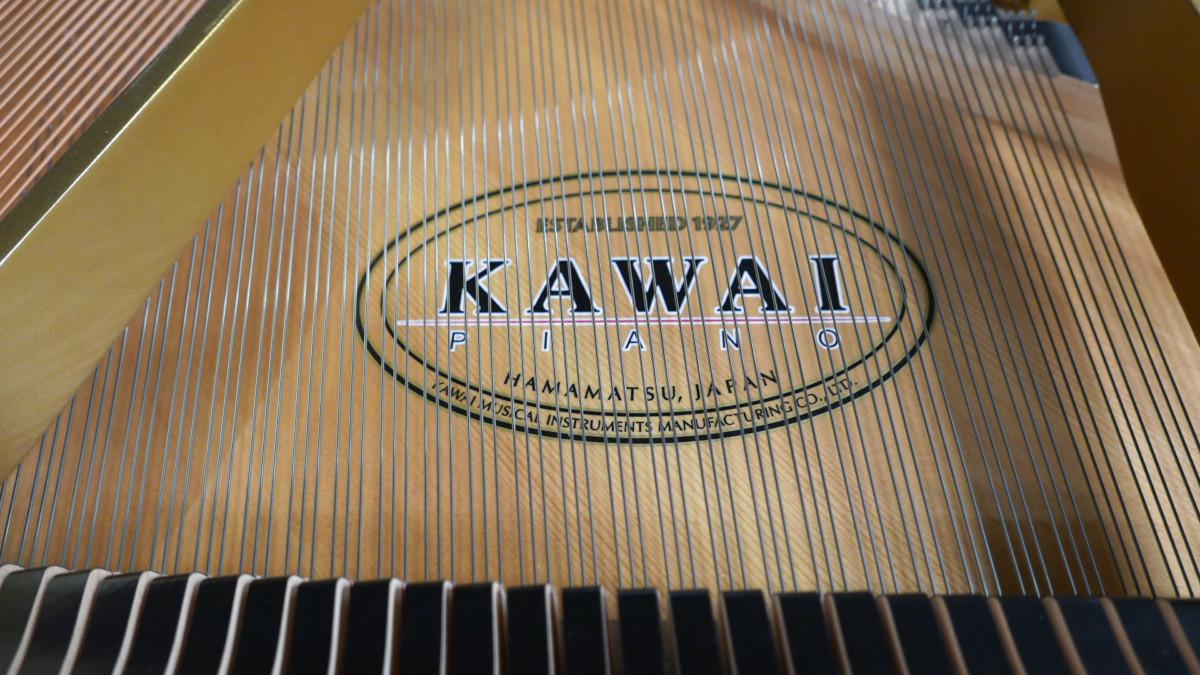 piano de cola Kawai GL50 #2735077 tabla armonica cuerdas apagadores marca