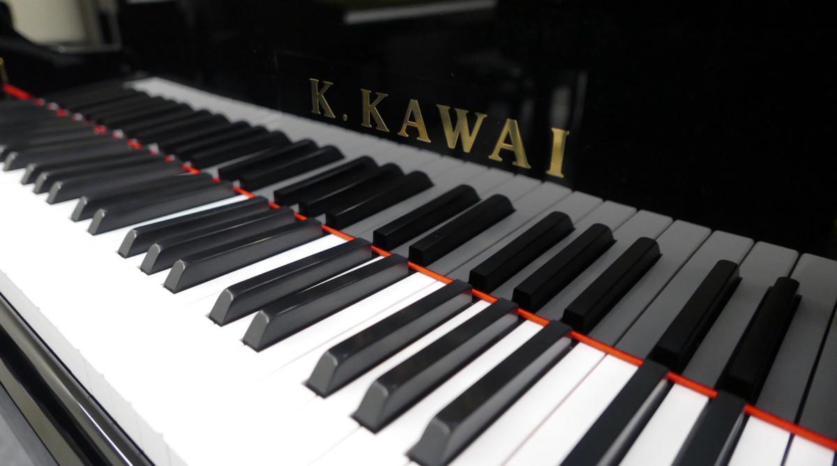 piano de cola Kawai GL50 #2735077 telcado teclas