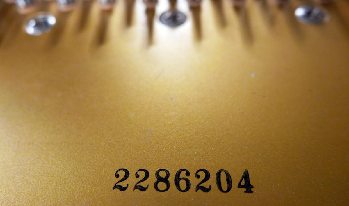 piano de cola Kawai RX7 #2286204 numero de serie
