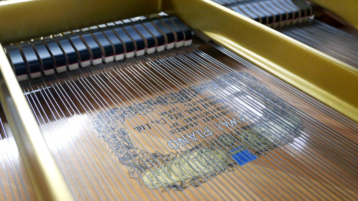 piano de cola Kawai RX7 #2286204 tabla armonica cuerdas apagadores