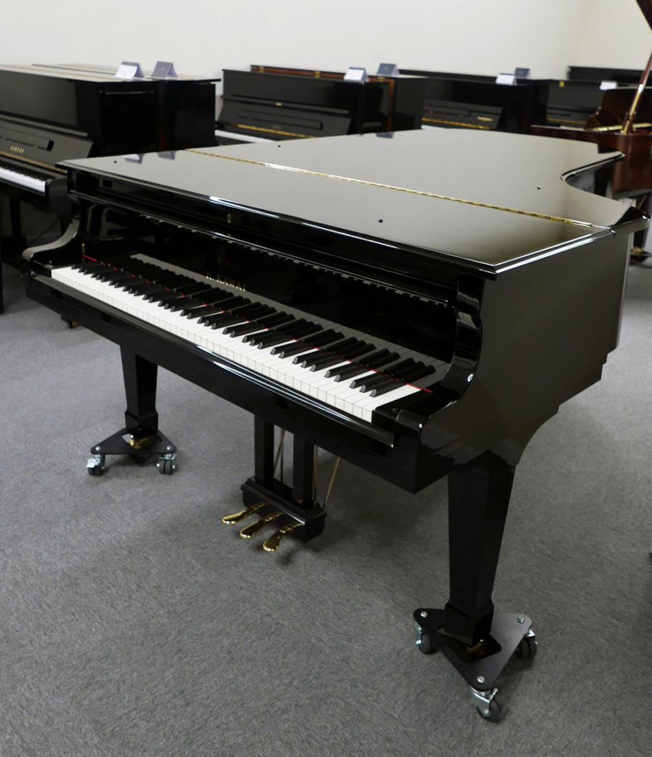 piano de cola Kawai RX7 #2286204 vista general tapa cerrada