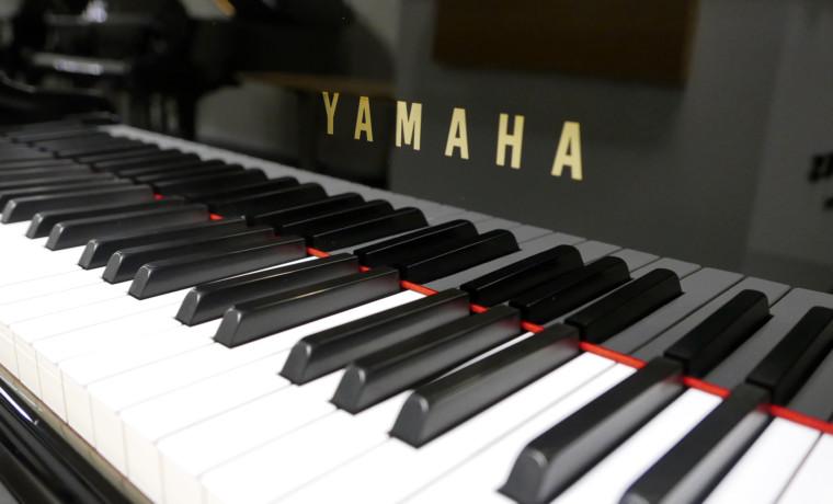 piano de cola Yamaha G2 #4230632 teclado teclas marca