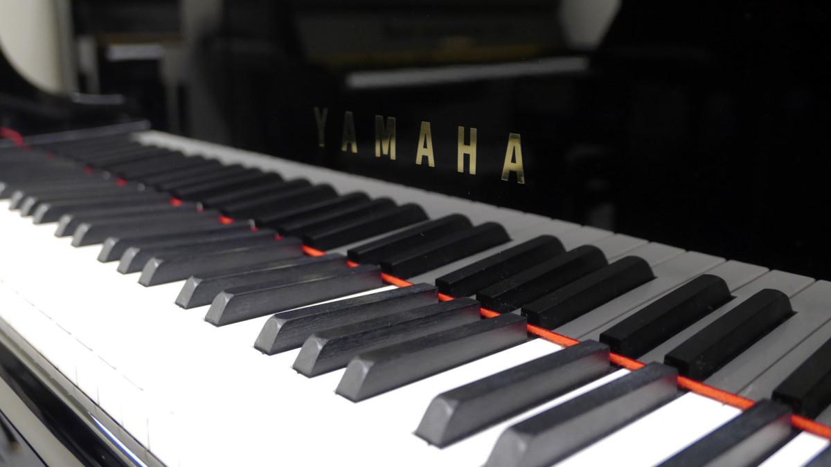 piano de cola Yamaha C6X #6350150 teclado teclas marca