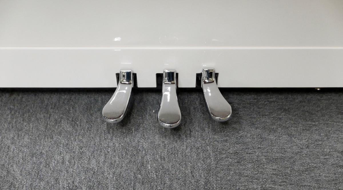 piano vertical König K109 #11771 pedales pedal