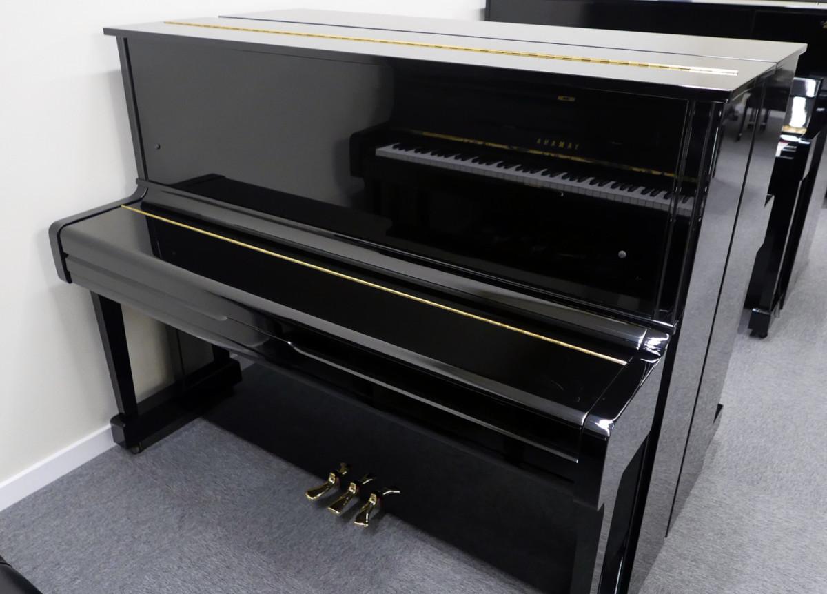 piano vertical Yamaha U100 #5561309 vista general tapa cerrada
