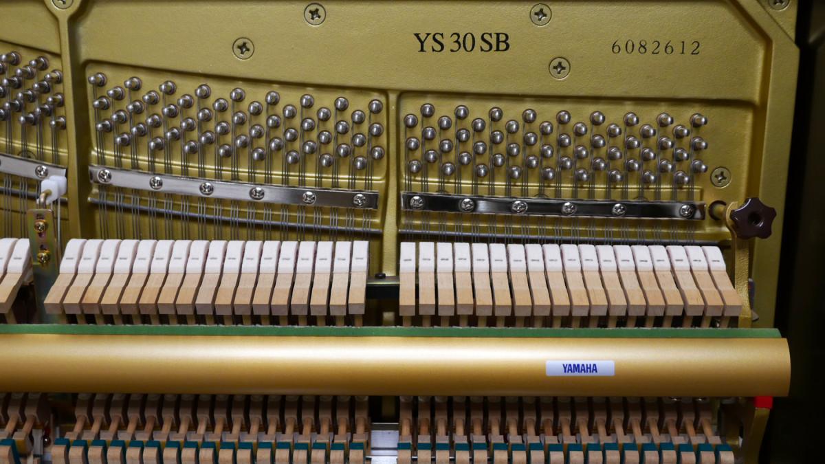piano vertical Yamaha YS30SB Silent #6082612 arpa numero de serie modelo