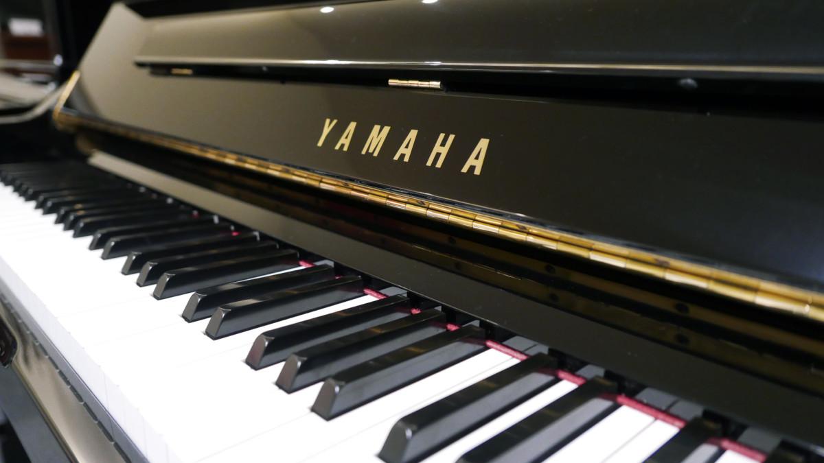 piano vertical Yamaha YS30SB Silent #6082612 teclas teclado marca