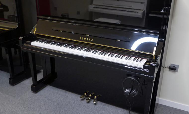 piano vertical Yamaha YS30SB Silent #6082612 vista general