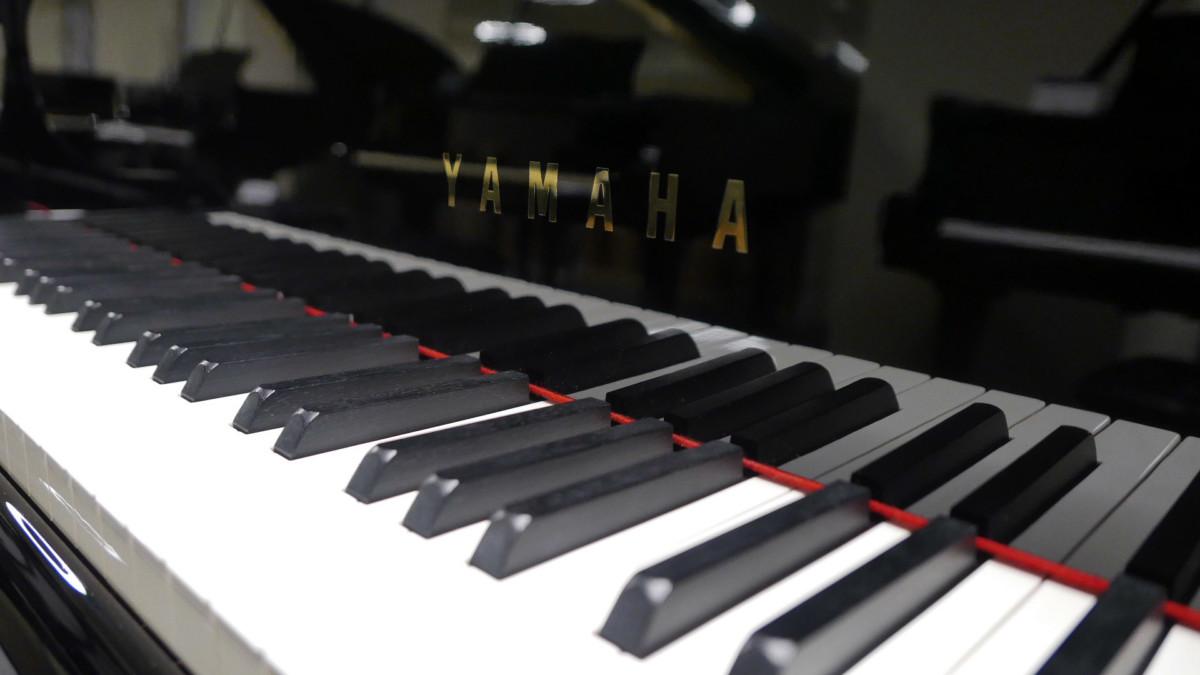 piano de cola Yamaha C3 #4791705 teclas teclado marca