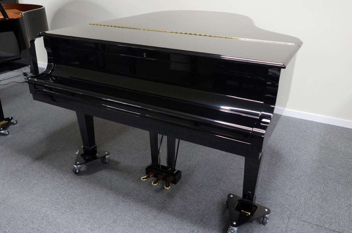 piano de cola Yamaha C3 #4791705 vista general tapa cerrada