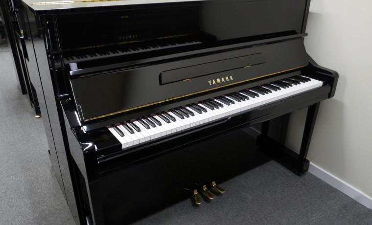 piano vertical Yamaha YU1SXG Silent #5568629 plano general tapa abierta
