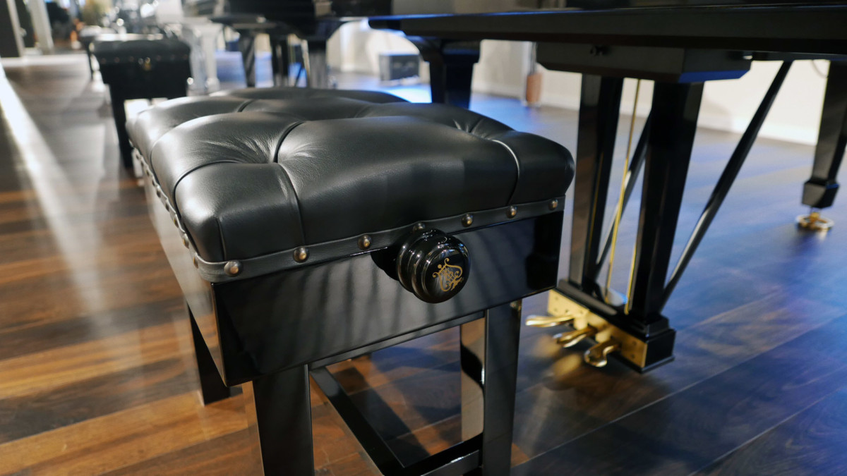 piano de cola nuevo SEMINUEVO. Steinway & Sons M170 Spirio #607508 banqueta