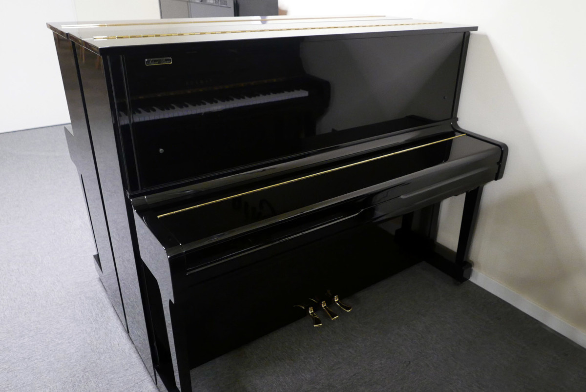 piano vertical Yamaha U100 Silent #5419204 vista general tapa cerrada