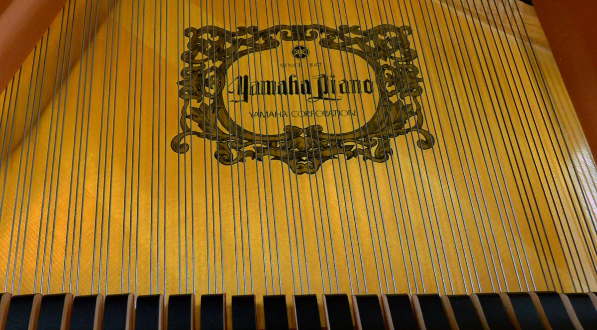 piano de cola Yamaha C3X #6366252 tabla armonica cuerdas marca apagadores