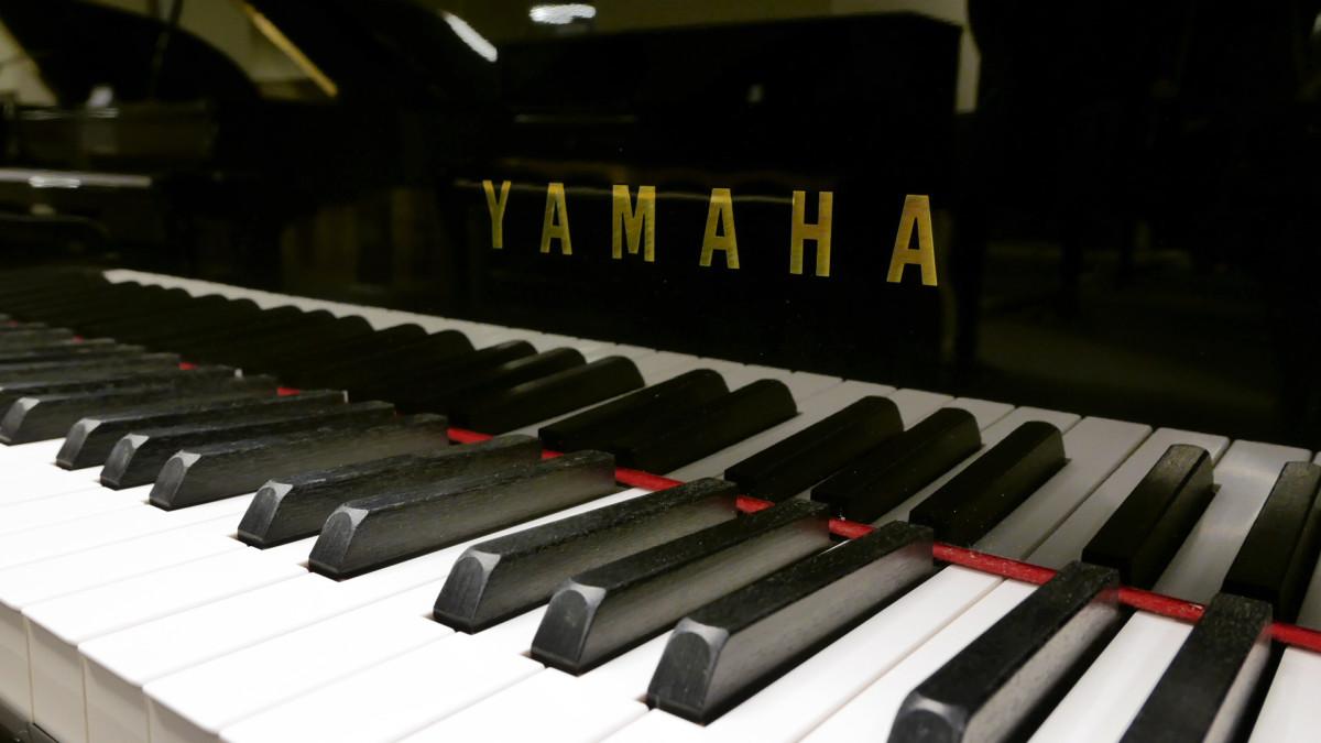 piano de cola Yamaha C3X #6366252 teclado teclas marca
