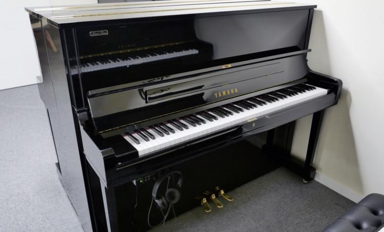piano vertical Yamaha YUS1 Silent Y #6248100 vista general tapa abierta