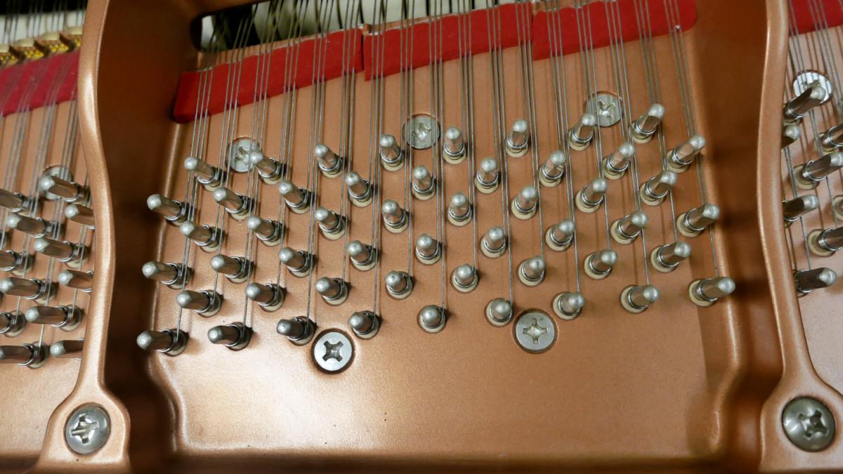 piano de cola Yamaha C3X #6349992 clavijero clavijas