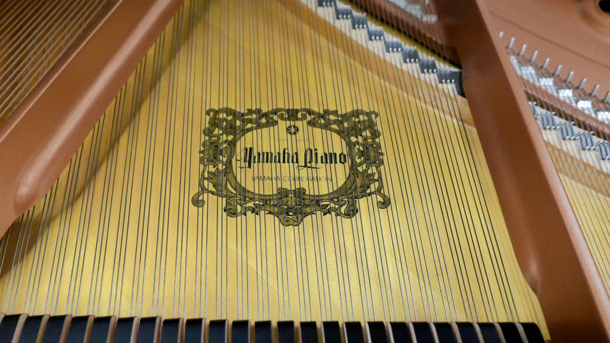 piano de cola Yamaha C3X #6349992 tabla armonica cuerdas apagadores