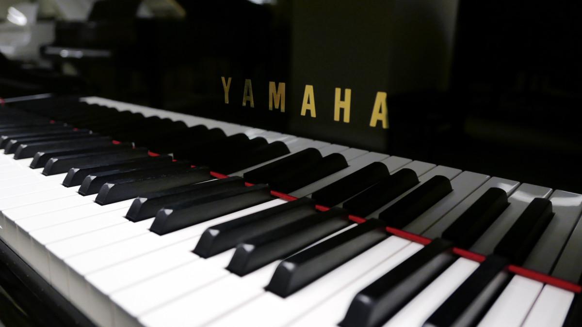 piano de cola Yamaha C3X #6349992 teclado teclas marca