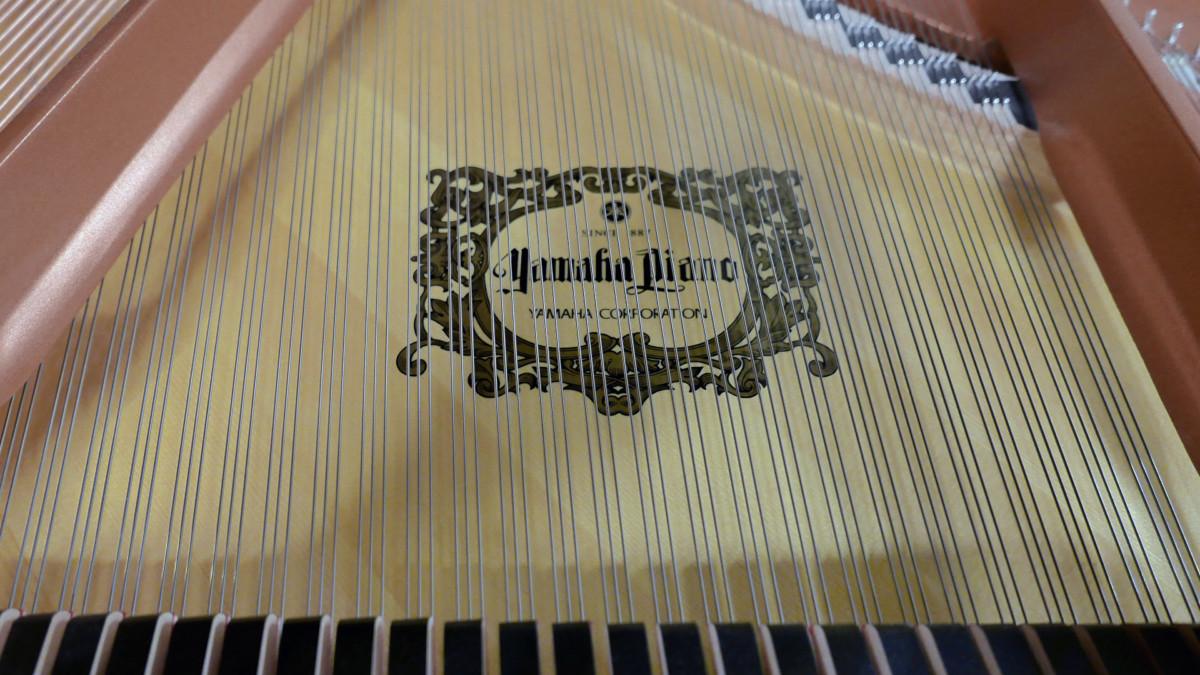 piano de cola Yamaha C5X #6515402 arpa marca firma cuerdas