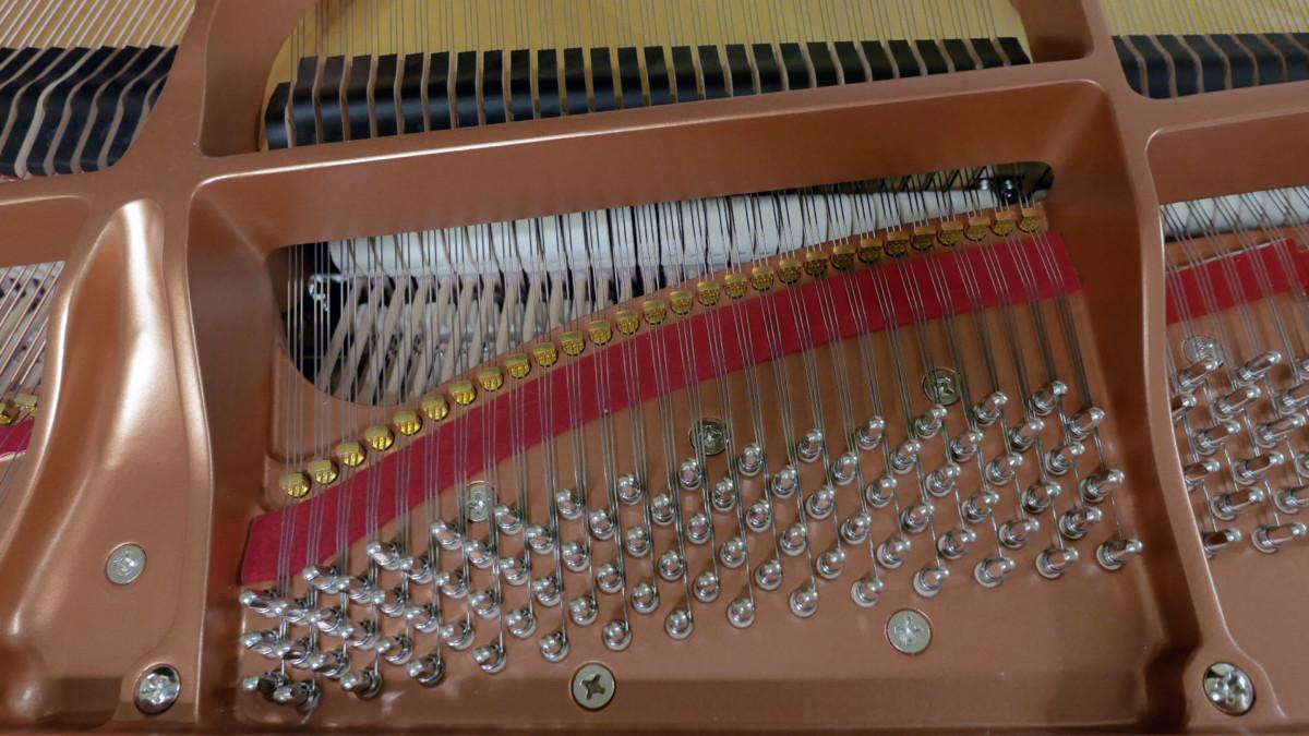 piano de cola Yamaha C5X #6515402 clavijero clavijas cuerdas apagadores
