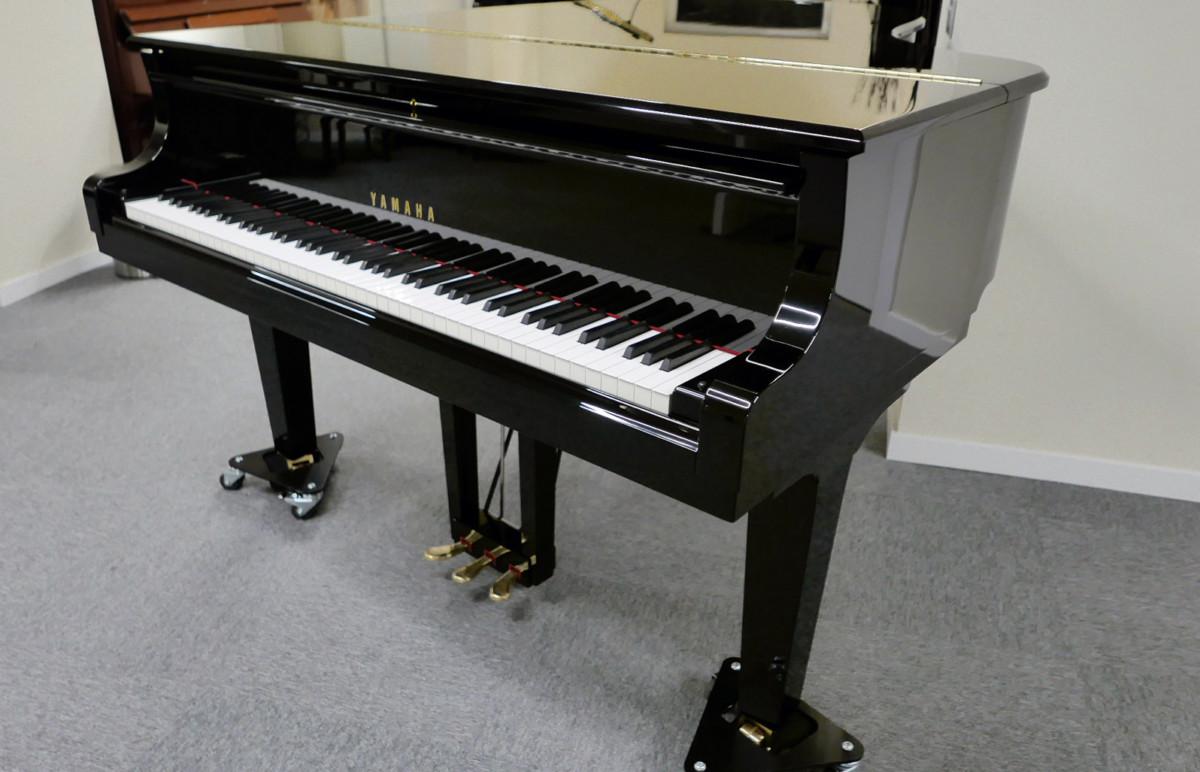 piano de cola Yamaha C5X #6515402 plano general tapa cerrada